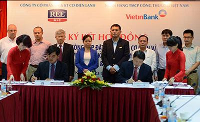 Lễ ký kết hợp đồng thi công Trụ sở Vietinbank Hà Nội (2014)