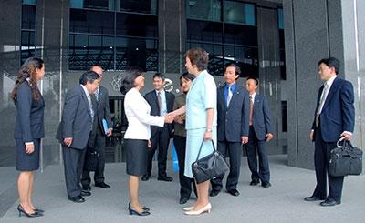 Đón tiếp Phái đoàn Osaka - Nhật Bản (2007)