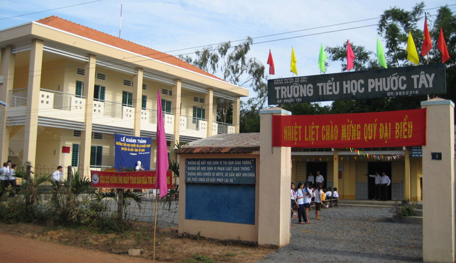 Trường Tiểu học Phước Tây - Tây Ninh (2011)